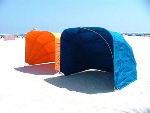 Beach Cabana - clamshell